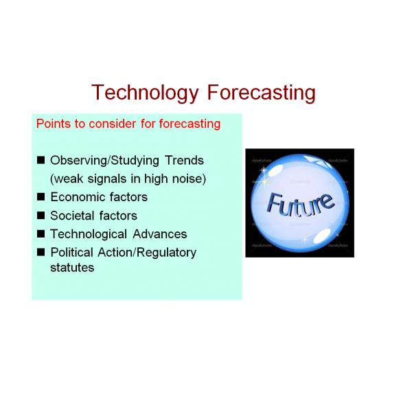 Tech Forecasting